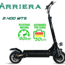 Patineta, Scooter, Eléctrica, 60 km, kilómetros